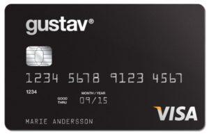 Kortbetalning Gustavkortet